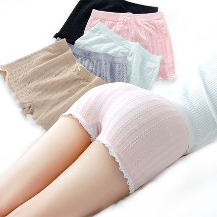 6a6931ac91e8 Yesello Summer Women Soft Cotton Sexy Safety Shorts Lace Anti Exposure  Girls Boxer Shorts Under Skirt Breathable Short Tights Price: 5.00 & FREE  Shipping # ...