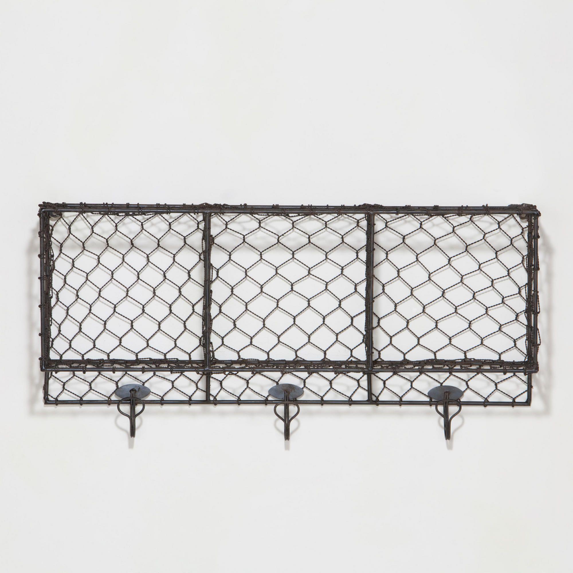 Chicken Wire Storage Ryan Wall Storage Unit