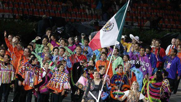 Delegacion olimpica mexicana. Viva Mexico!!!