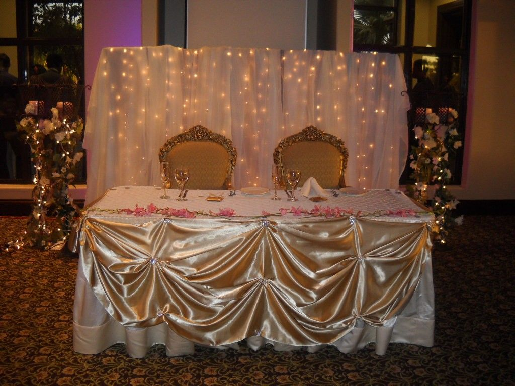quinceanera head table decorations Request a custom order and