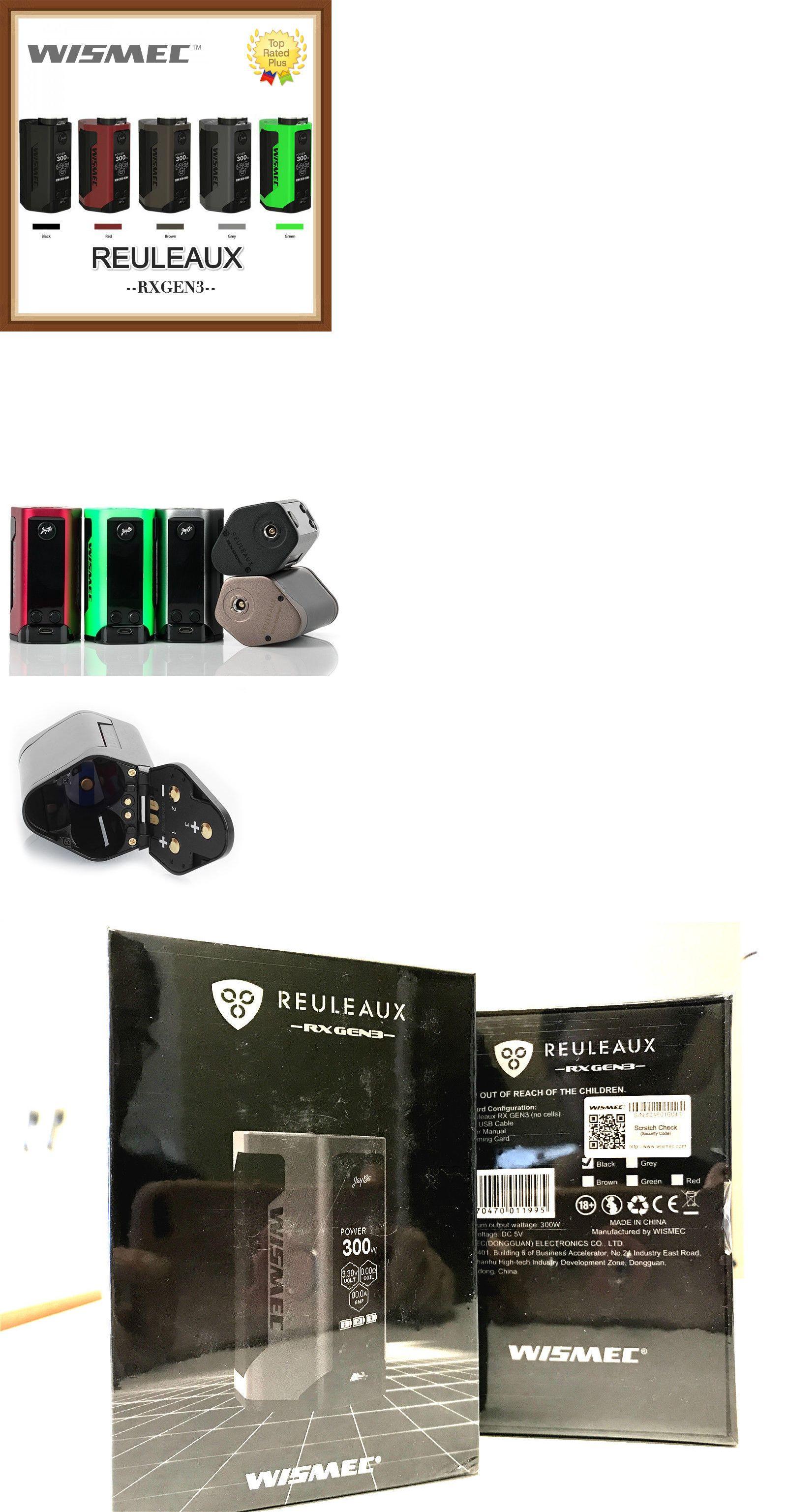 Other Gad s Authentic Wismec Reuleaux Rx Gen3 300W Tc Mod Trusted Us