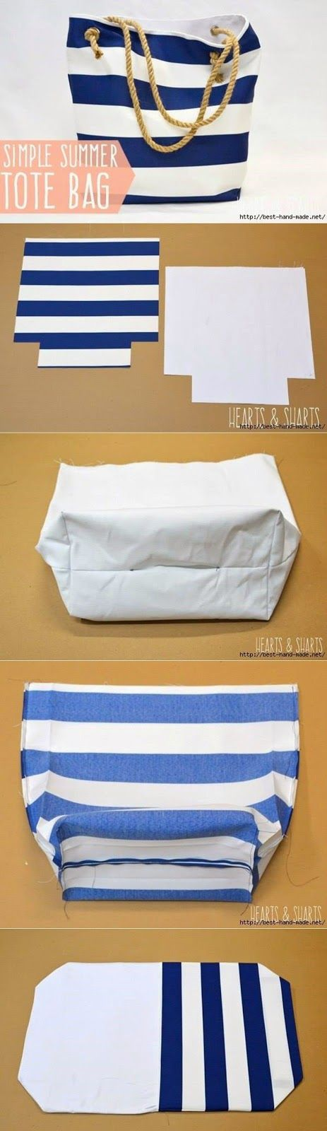 Relasé: DIY: borsa da spiaggia - tutorial