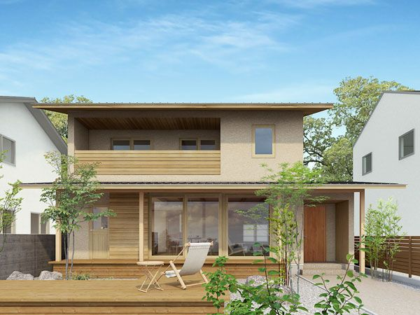 モデルプラン 木かげの家 平成建設 画像あり 家のデザイン