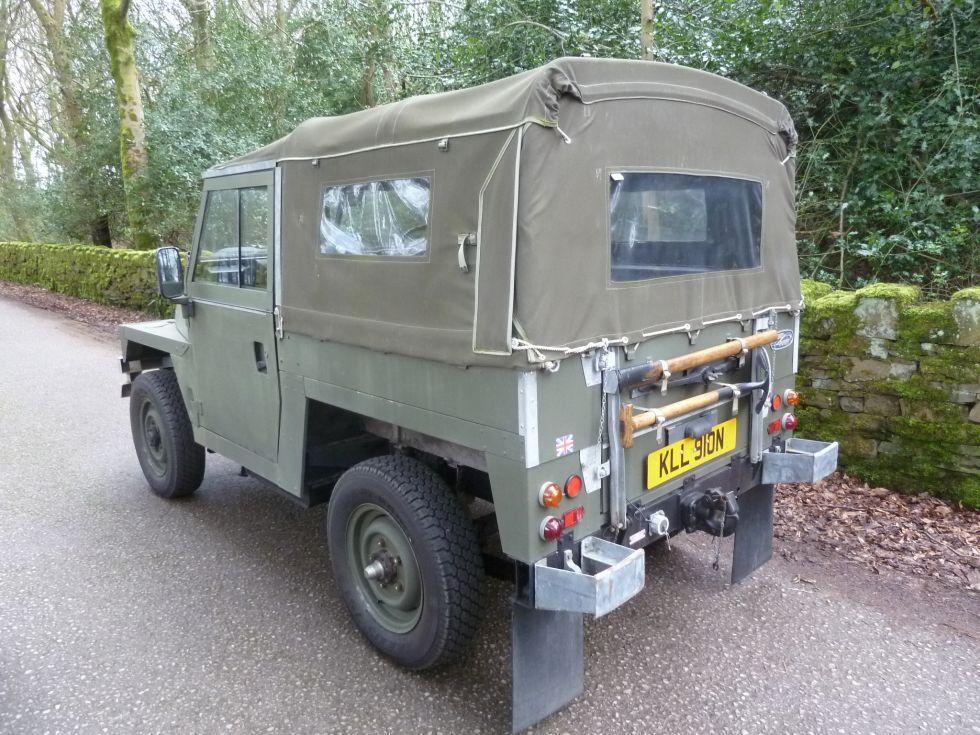 KLL 910N 1975 Land Rover Series 3 Lightweight / Air