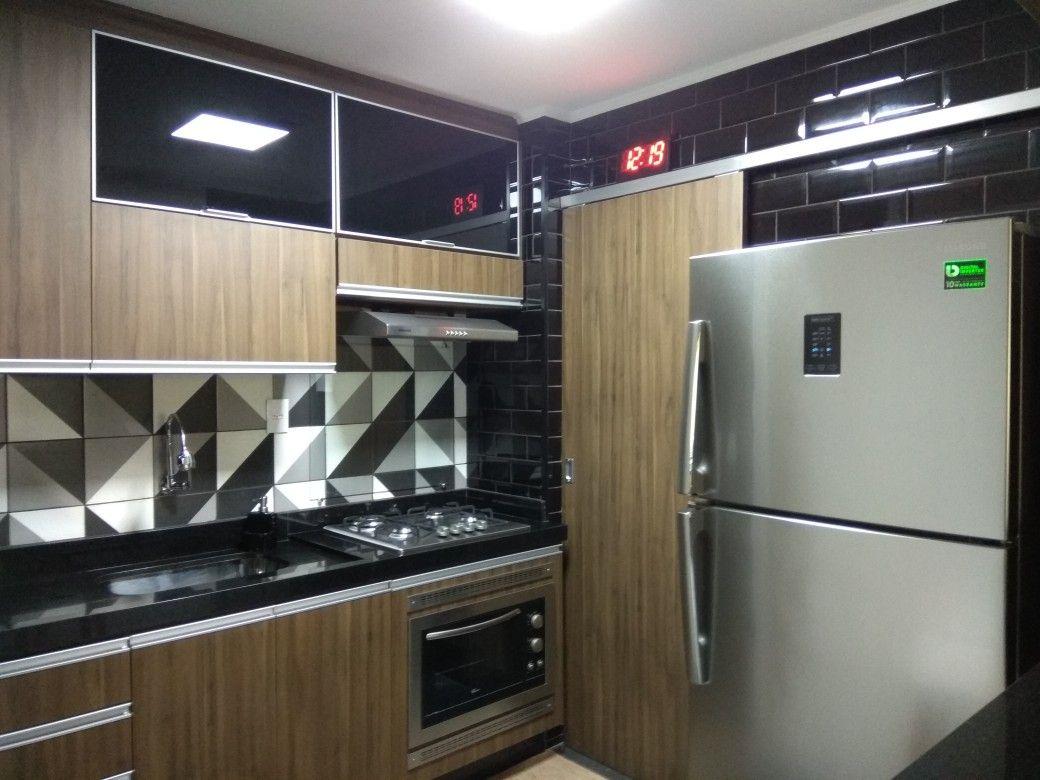 Minha Cozinha 100 Finalizada Cozinha Apartamento