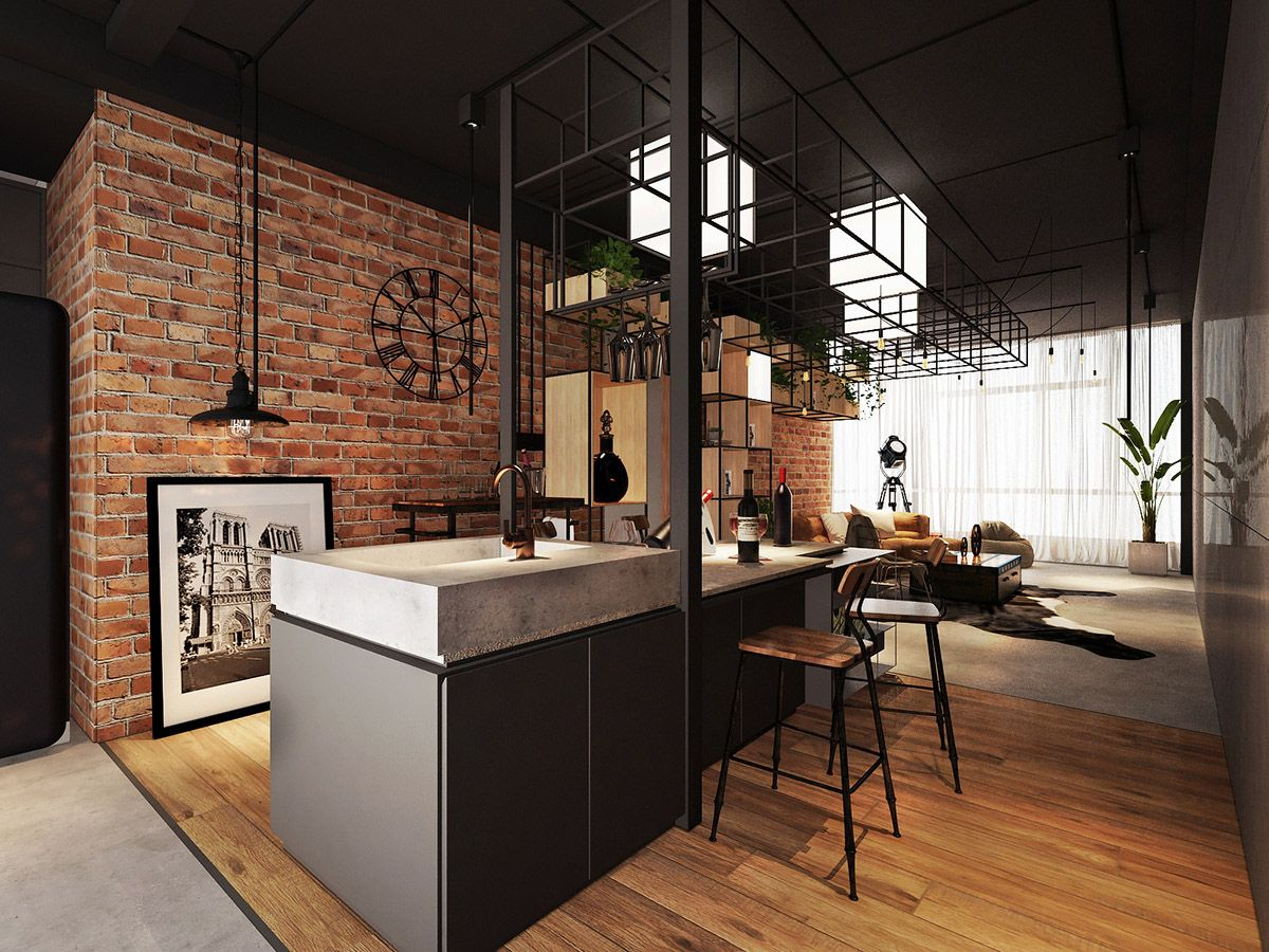 Three Industrial Style Lofts With Natural Accents Natural Home