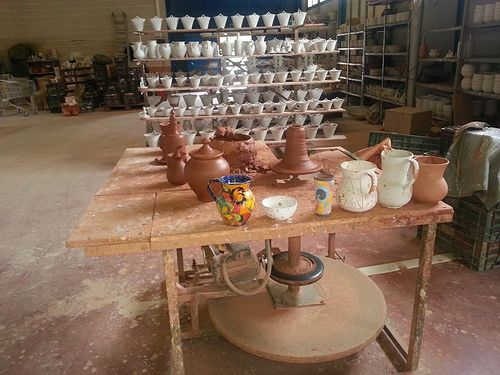 Taller artesanal de cerámica, Alhabia. Proyecto rumor Alpujarra Almería. Turismo rural.