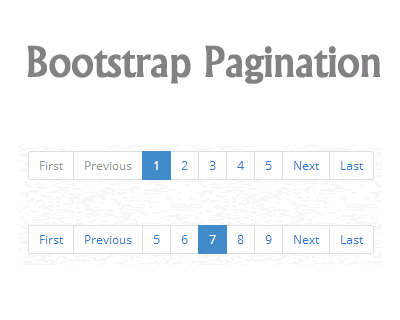 jQuery Pagination Plugin for Bootstrap #jQuery #bootstrap