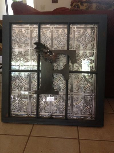 Old window idea for the home pinterest window craft for Decorative door frame ideas