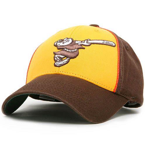 San Diego Padres Retro Logo Pastime Adjustable Cap - MLB.com Shop ... 40f22a9327a
