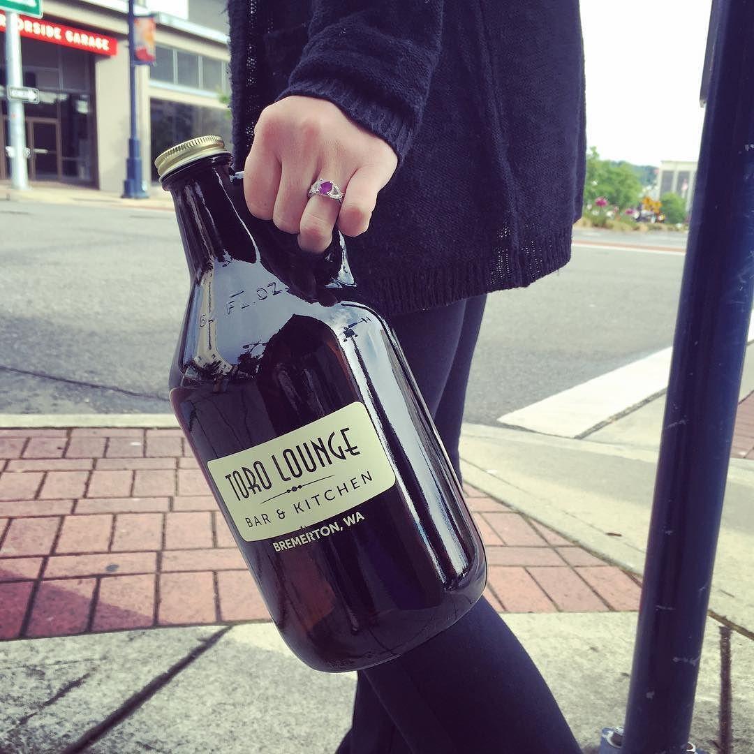 Instagram Photo By Toro Lounge Jul 1 2016 At 10 55pm Utc Growler Fill Lemon Basil Growler