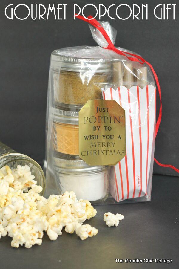 Gourmet Popcorn Gift Add Your Seasoning Mixes To Mason