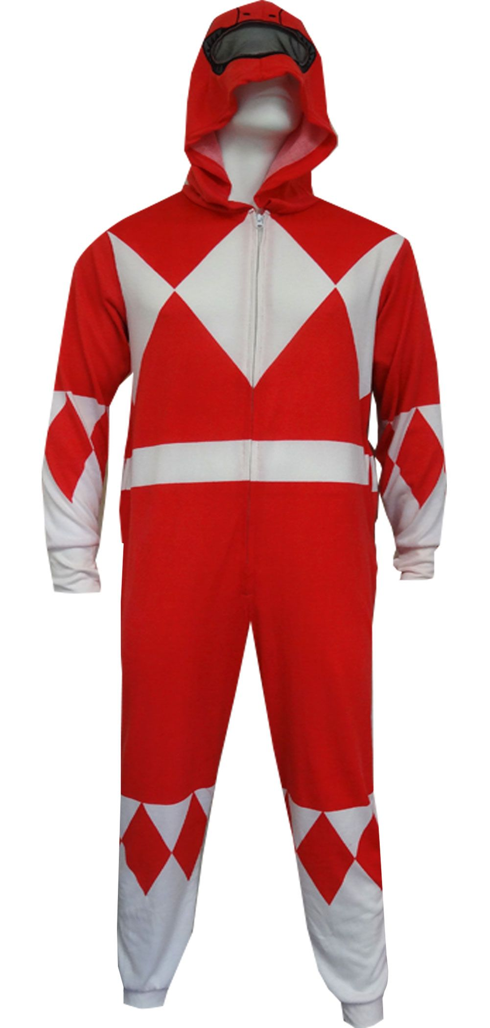 52ee132b56 Mighty Morphin Power Rangers Red Ranger Onesie Pajama
