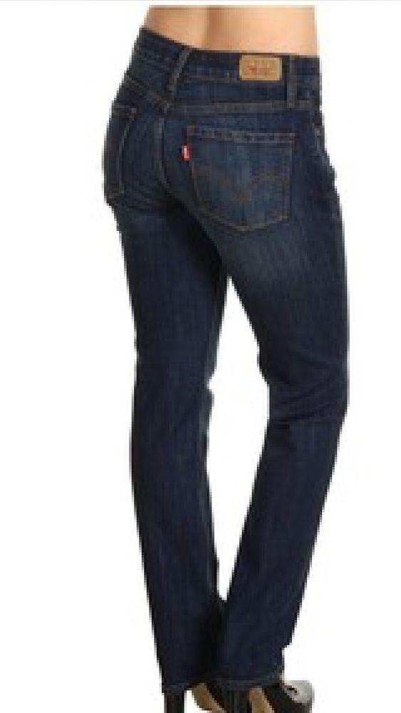 486efca90434 Levi's 525 Perfect Waist Straight Leg Women's Stretch Jeans Size 10 X 32 NWT  #Levis #StraightLeg