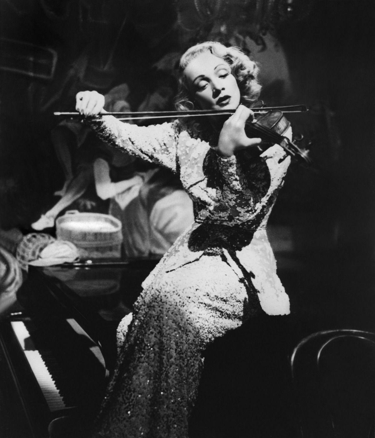 Marlene Dietrich Cine Clasico Los Angeles Azules Actrices