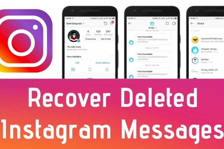 How To Recover Deleted Instagram Messages (2020) Restore