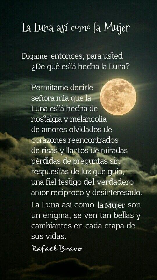 Pin De Nilda Marina Luna Nieves En Poemas Frases De Luna Frases De Sabiduria Poemas Romanticos
