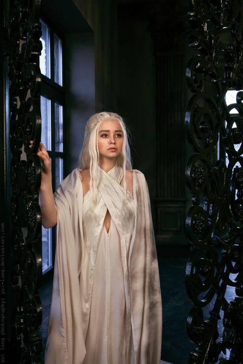 Daenerys targaryen pinned from for Daenerys targaryen costume tutorial