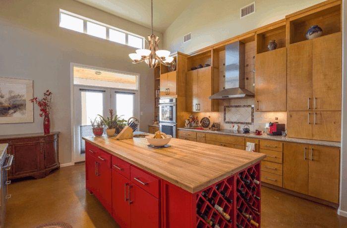Ist die kücheninsel ein muss 30 küchen mit kochinsel als inspiration kücheninsel weinregale und integriert
