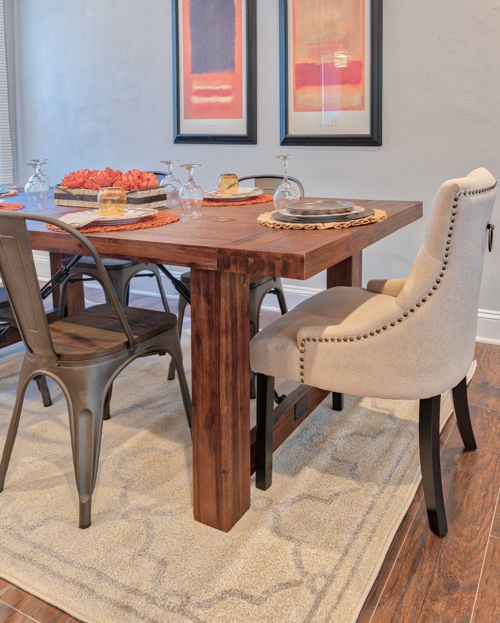 Home Staging Dining Room Table: Pin By KJ Design On Edmondson Avenue Staging