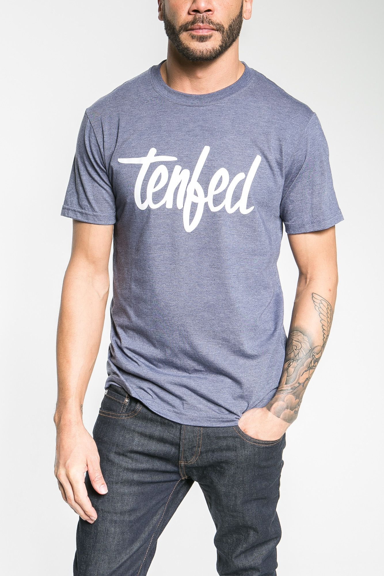 Look handsome in our wide selection of bold #Tenfed t-shirts – made for manly men http://goo.gl/00YuTa