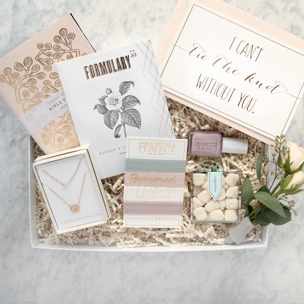 Bridesmaid Gift Box No 2 Best Bridesmaid Gifts Bridal Party Gifts
