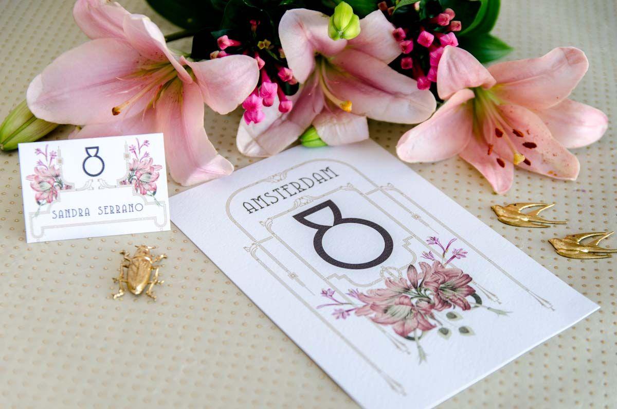 #invitacionesvintages #invitaciongatzby #artnouveau #papeleriadeboda #weddingstationery #invitacionconflores #invitacionconacuarela