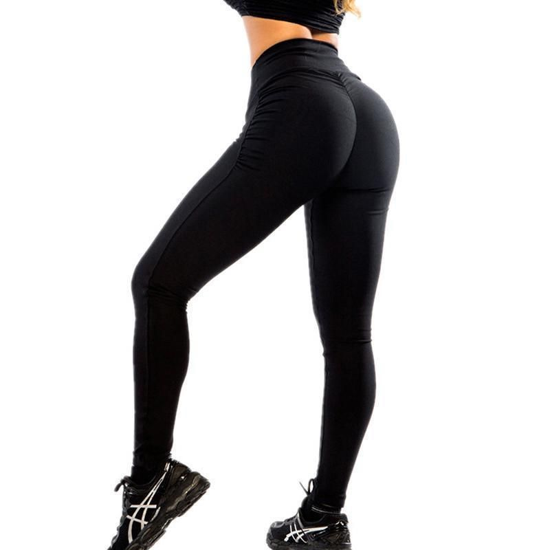d9a24f61b4119a Soveigne™ Push Up Leggings   workout gear   Seamless leggings, Black ...
