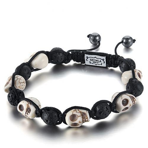 Shimla Jewellery - Shimla Skull Bracelet SH-049 - €48.00