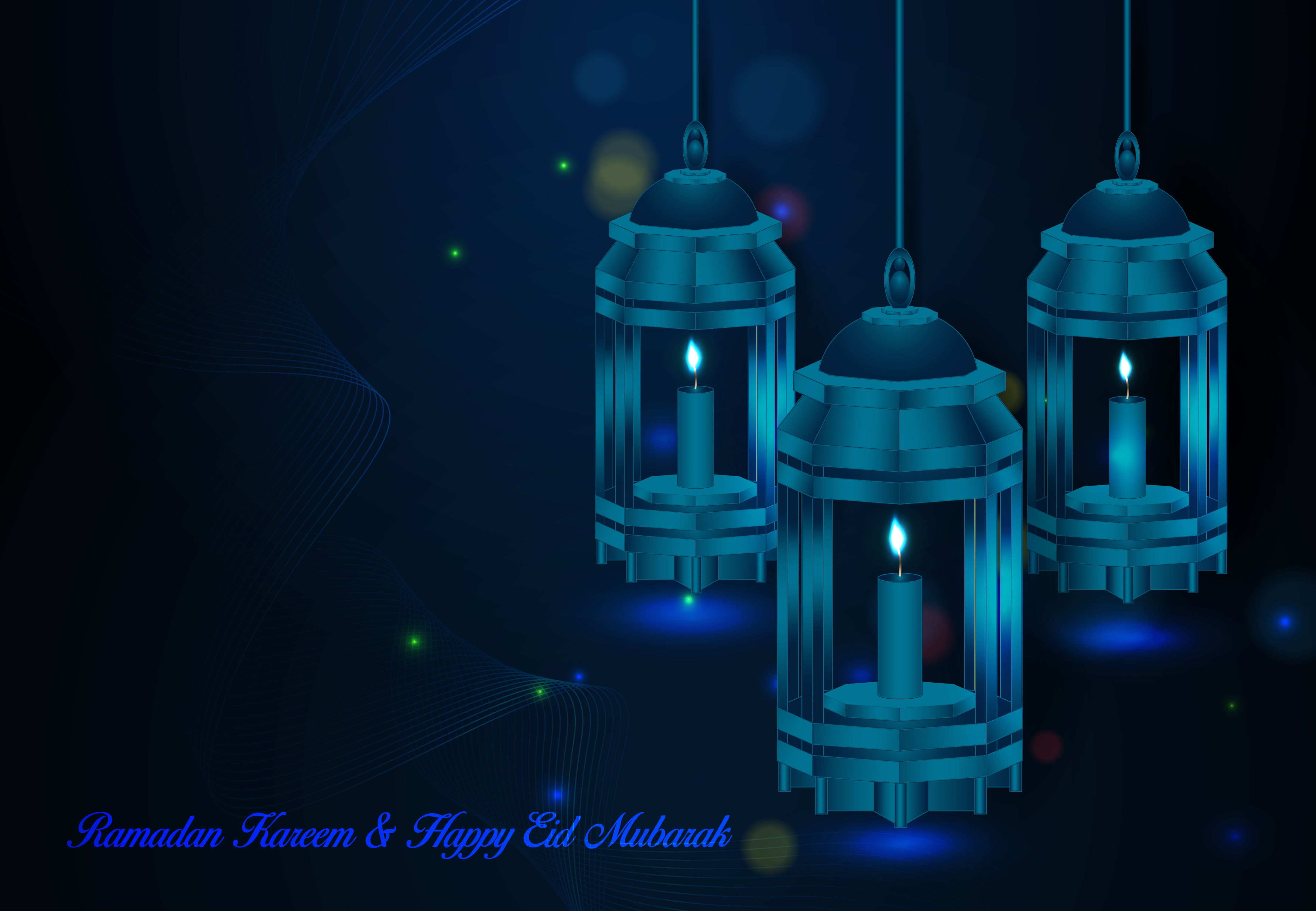 Ramadan And Happy Eid Mubarak Background Graphic By Sugarv Creative Creative Fabrica Happy Eid Mubarak Happy Eid Eid Mubarak Background