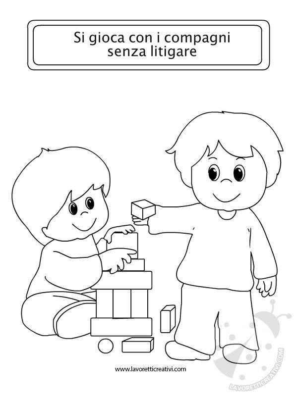 Eccezionale idee-regole-scolastiche-disegni | Educazione | Pinterest | Disegni  UZ71