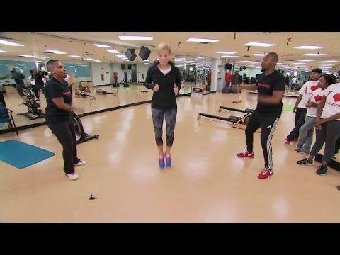 Double Dutch Aerobics Jump Rope Fitness - YouTube