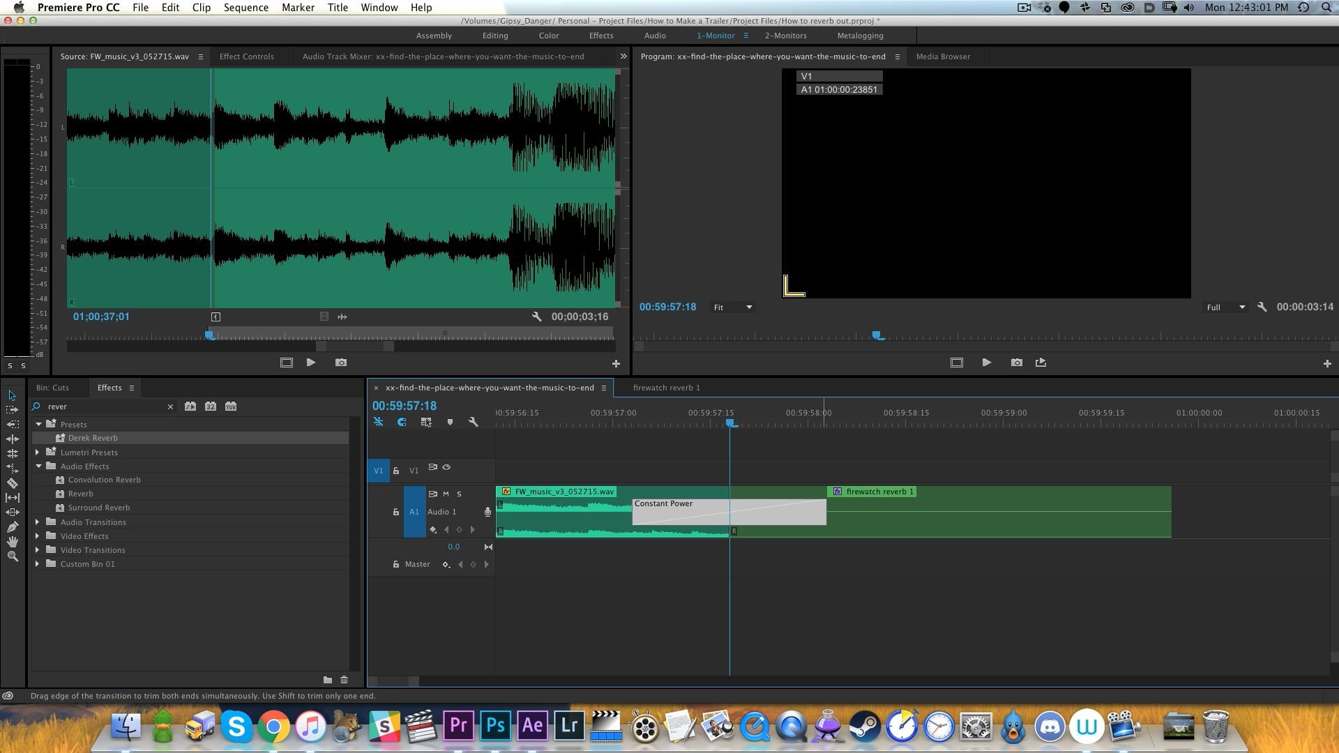 How to Make Sound Reverb Out in 2020 Video editing