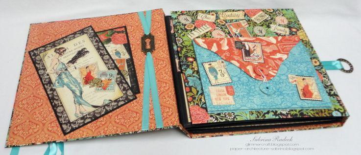 Couture Tri Fold Album 4
