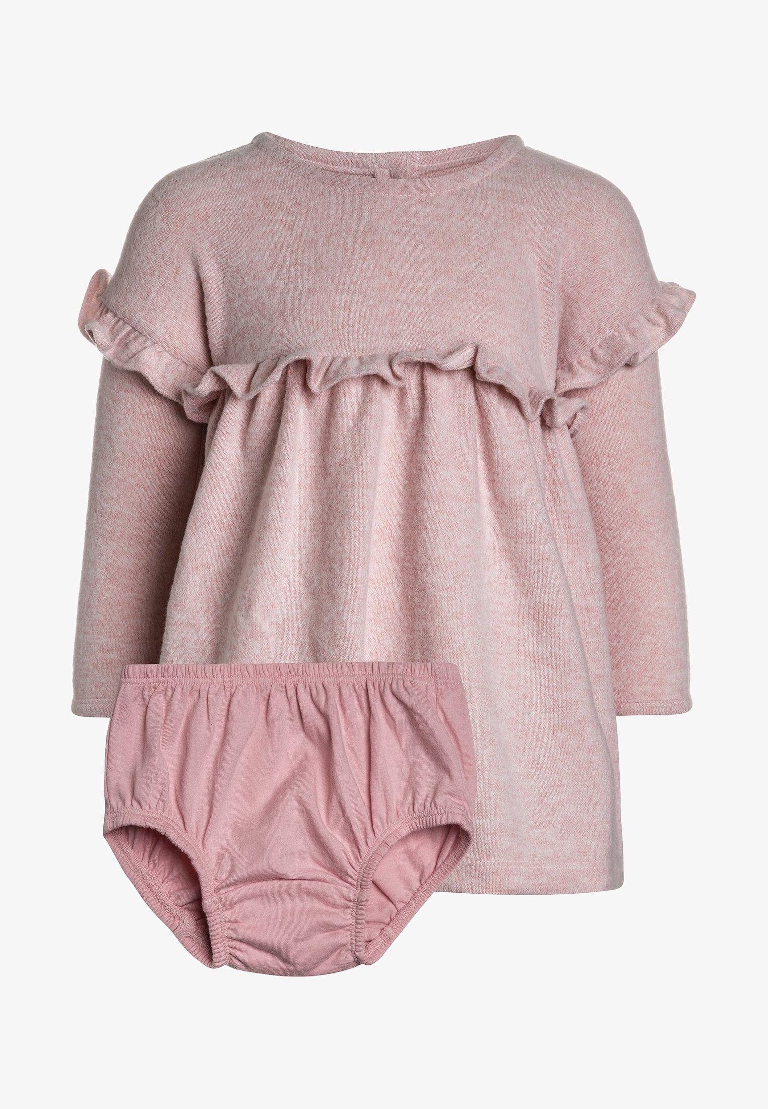 d06c2f29f8f8 BABY GIRL SET - Strickkleid - pink standard   Phoebe Elaine   Pinterest    Baby, Cute baby clothes and Girl outfits