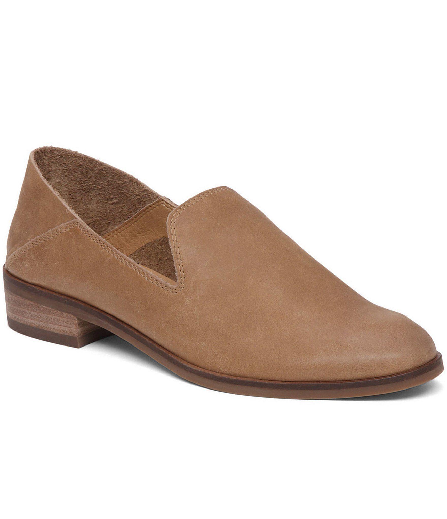 Cahill Leather Block Heel Dress Flats vUnCbevcZY