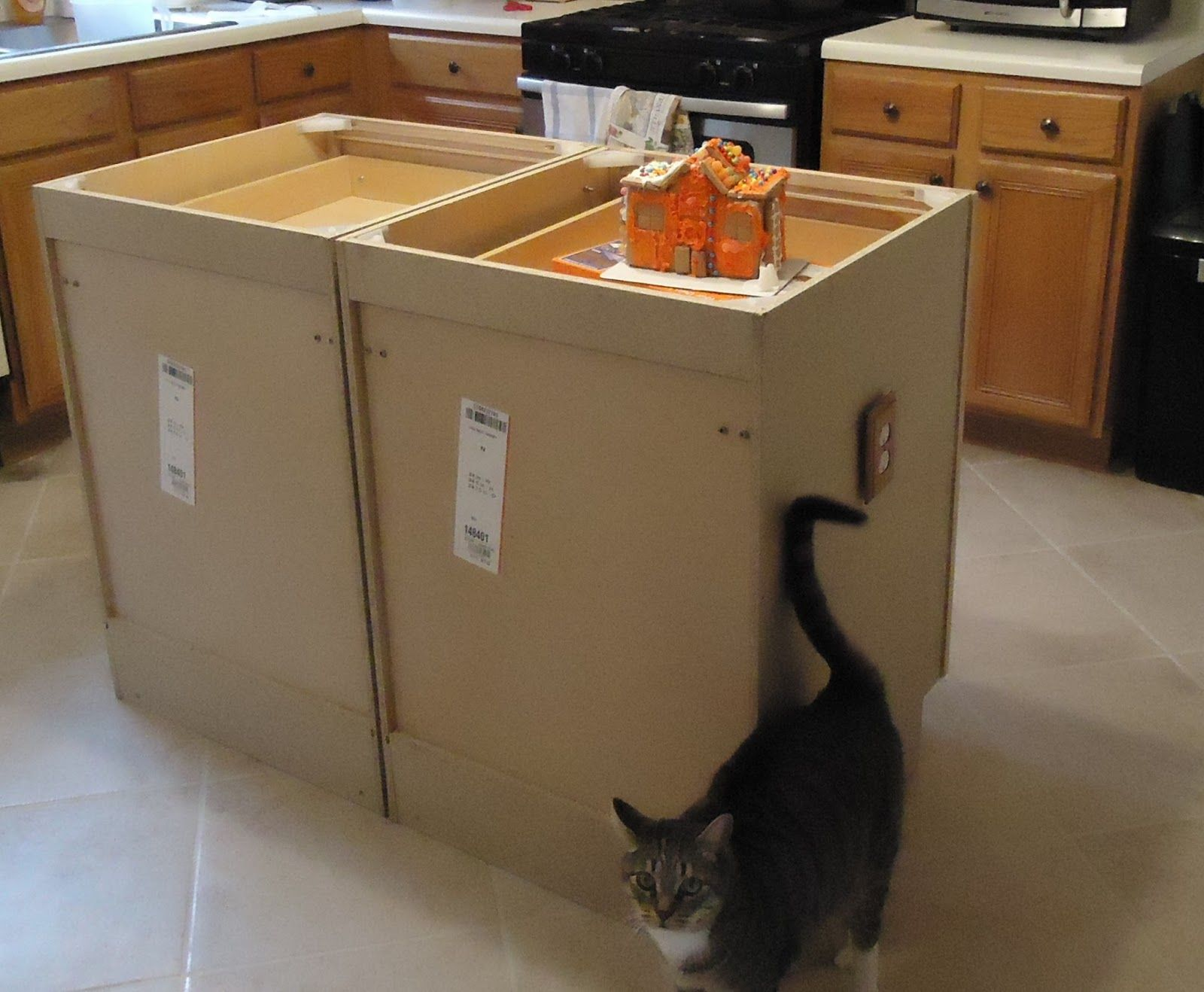 Small Of Making Kitchen Island From Cabinets