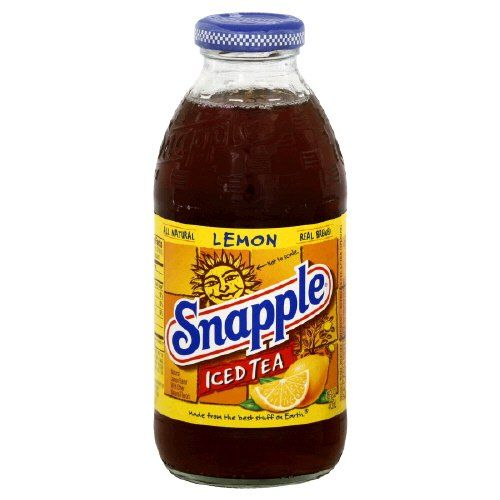 Snapple Iced Tea Lemon 16 Oz 6 Ct Details Can Be Found By Clicking On The Image This Is An Affiliate Link Icedtea Snapple Iced Tea Drinks Iced Tea