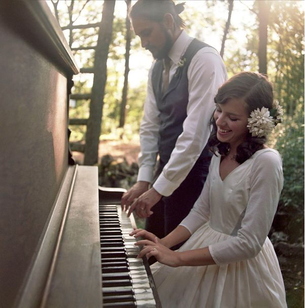 Image result for piano at a wedding