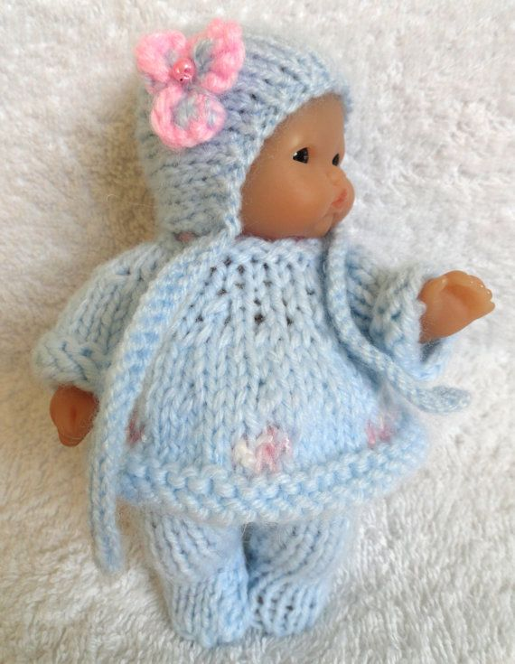Hand Knitted Dolls Clothes For 5 Berenguer Doll 120 Doll