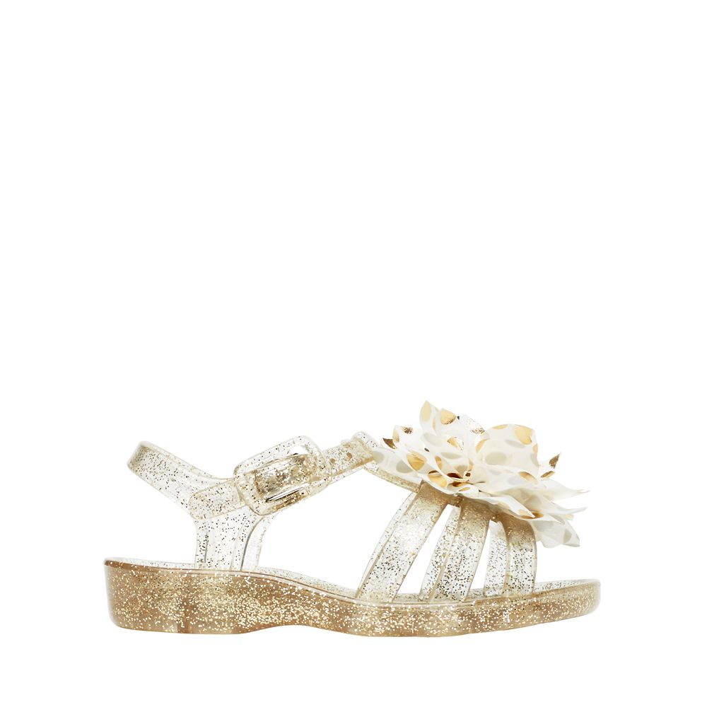 Butterfly Jelly glitter sandals