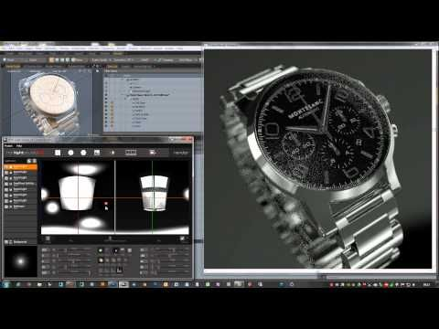 Quick demo of Octane Render for MODO with HDR Light Studio - YouTube