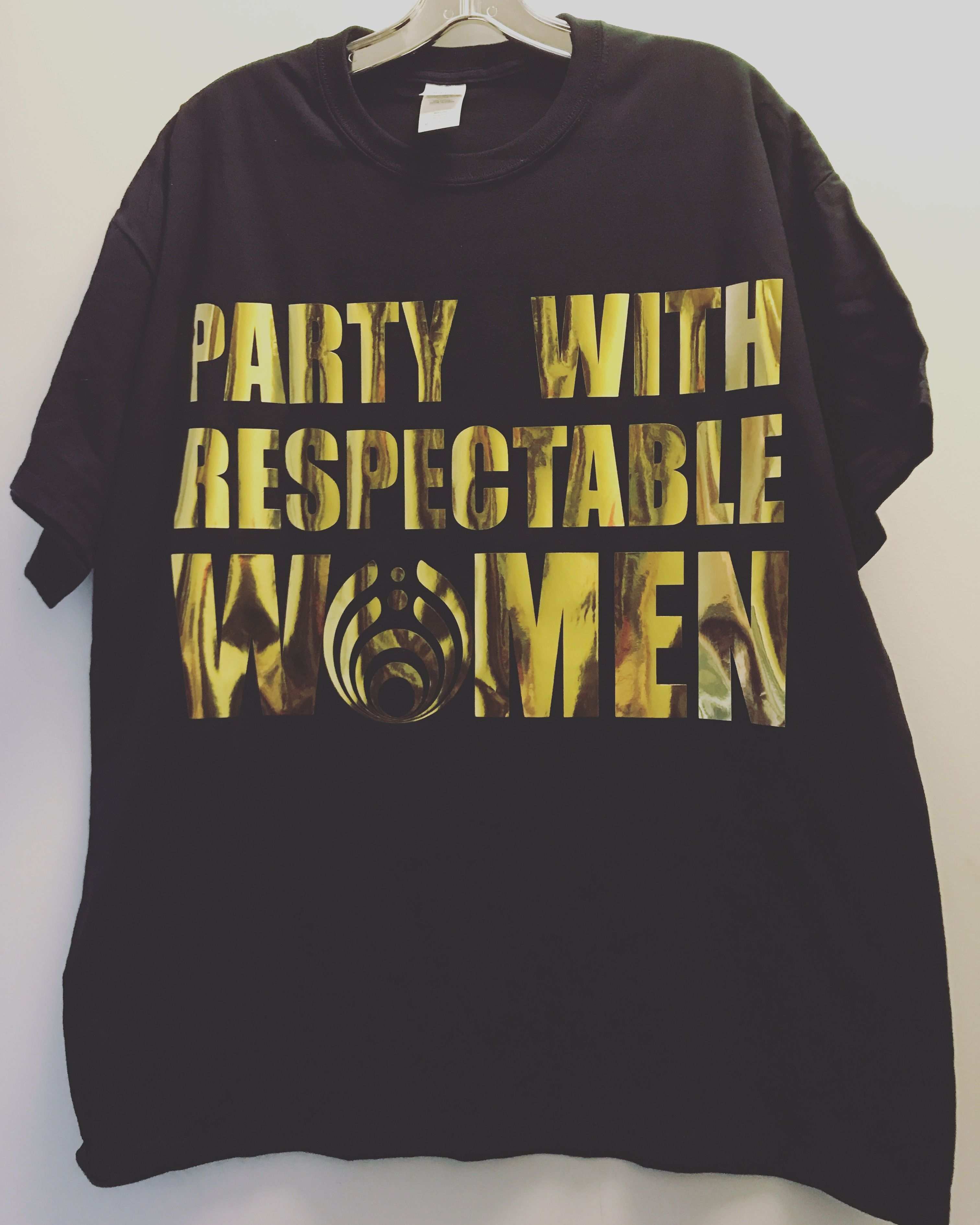 Party With Respectable Women Bassnectar Tshirt Rave clothing Edm ...