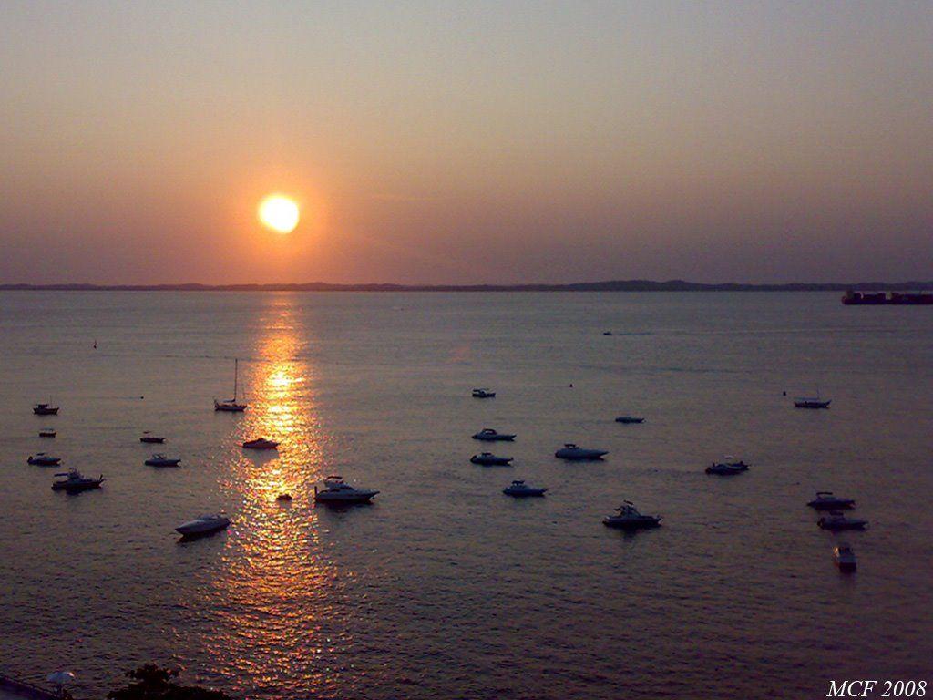 Baia de Todos os Santos - Sunset