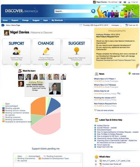 Intranet Design Ideas | Outstanding Intranet Support | Intranet ...