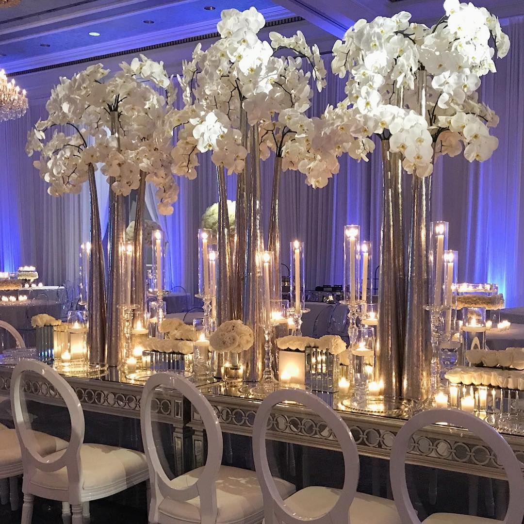 White Luxury Wedding Decor With Wonderful And Beautiful: 77.5k Followers, 953 Following, 1,554 Posts