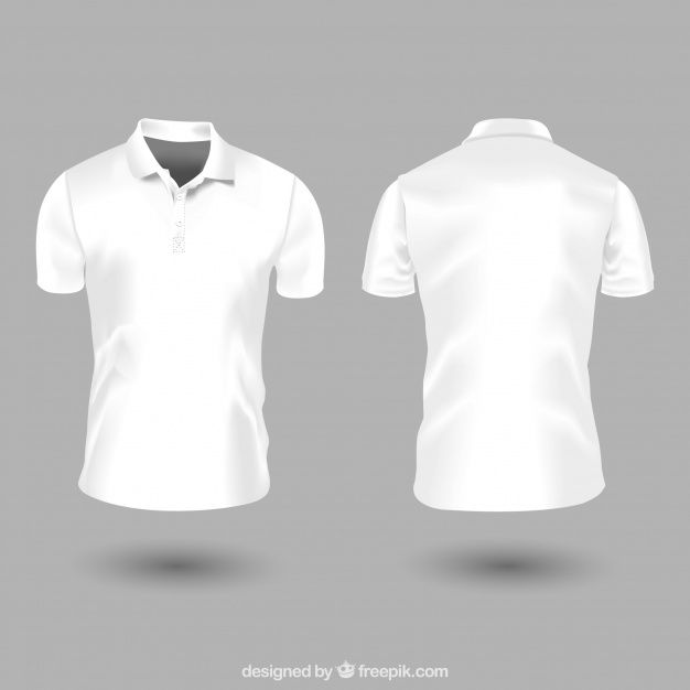 Polo T Shirt Mockup Front And Back Psd Free Pin On Prvky