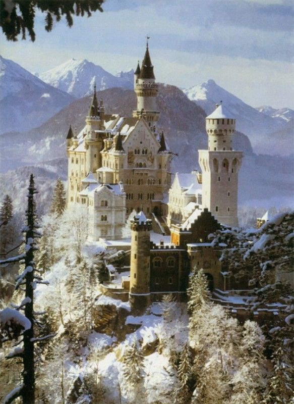 Tale As Old As Time Neuschwanstein Castle The Inspiration For Disney S Beauty And The Beast Castle Neuschwanstein Castle Germany Castles Famous Castles