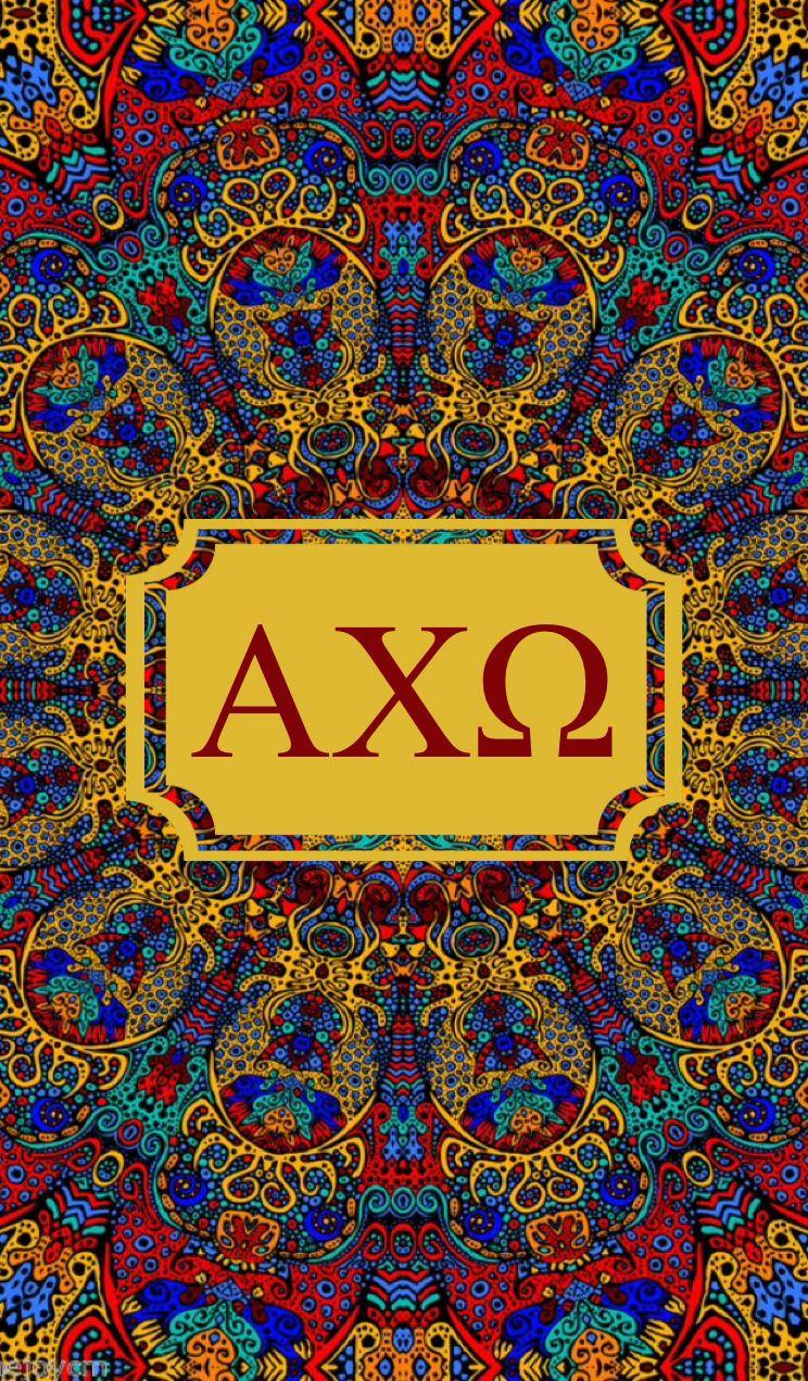 Alpha Chi Omega kaleidoscope iPhone monogram background! | Alpha Chi ...