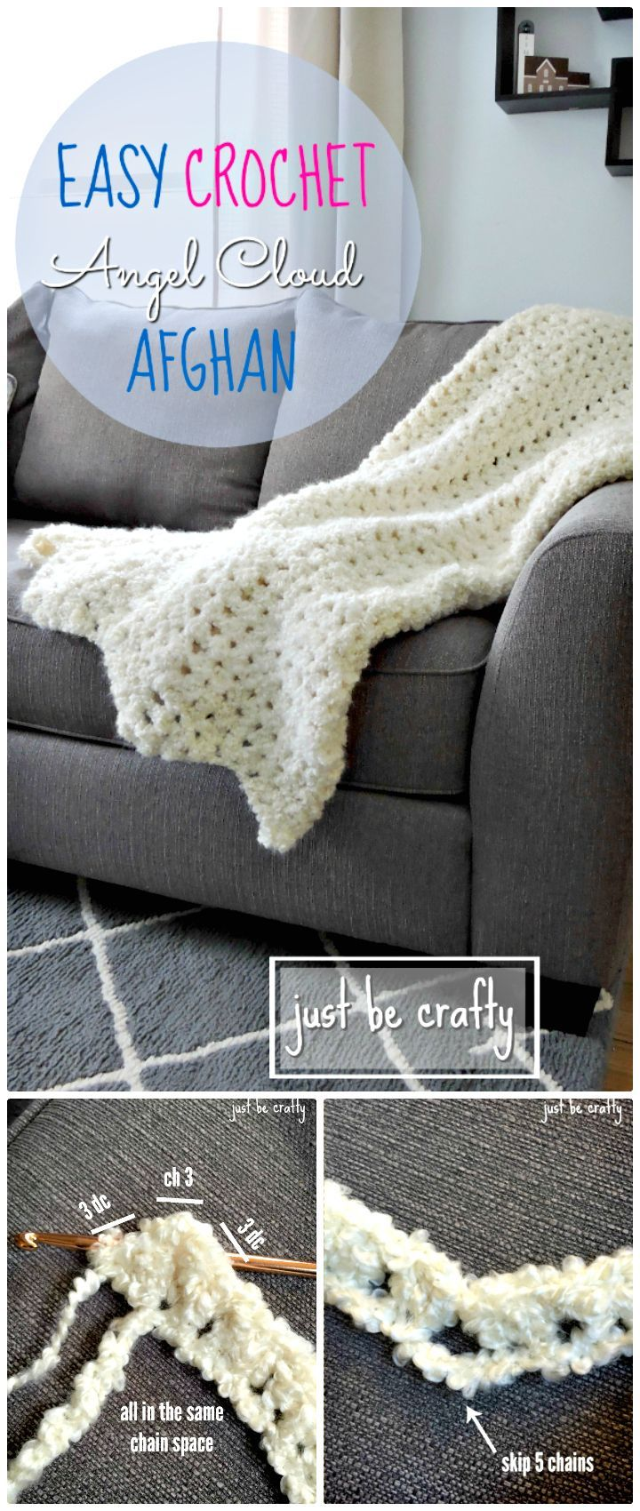 100 Free Crochet Blanket Patterns to Try Out This Weekend   Pinterest